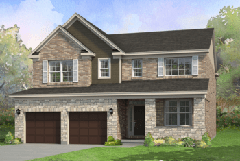 The McLean floor plan rendering
